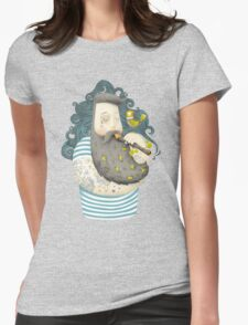 Bird Womens Fitted T-Shirt
