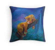 The Lion Sleeps Tonight Throw Pillow