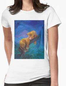 The Lion Sleeps Tonight Womens Fitted T-Shirt