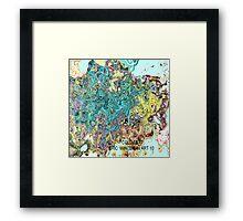 ( COLD   SEAT )   ERIC WHITEMAN ART  Framed Print