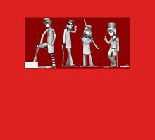 Steampunkgarden (Red) Unisex T-Shirt
