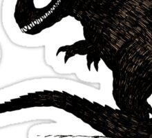 T Rex & Raptor Sticker