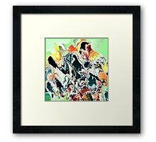( NECK PARTY )   ERIC  WHITEMAN ART   Framed Print