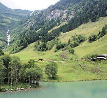 Landscape Austria like a postcard by theheijt