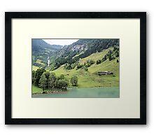 Landscape Austria like a postcard Framed Print