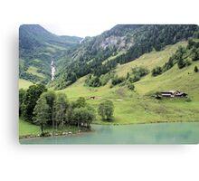 Landscape Austria like a postcard Canvas Print