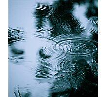 Rainy Day Blues Photographic Print