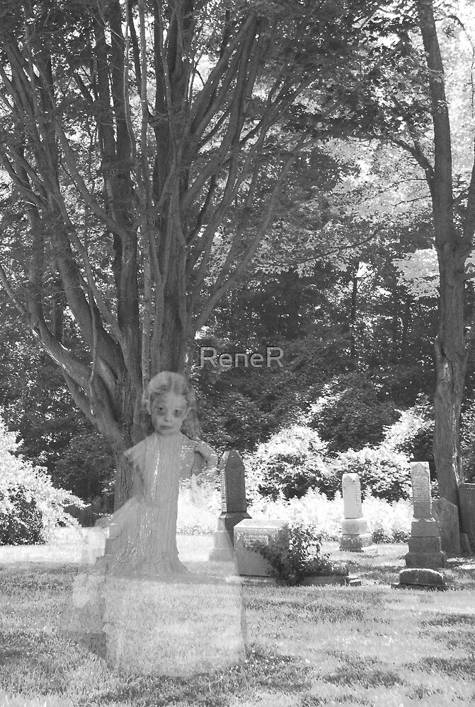 Little Mary in the Cemetery by ReneR