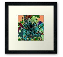 ( LIGHTING  ROAD  )  ERIC WHITEMAN ART Framed Print
