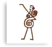 Tribal Belly Dance Dancing Goddess Canvas Print