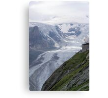Glacier Grossglockner Austria Canvas Print