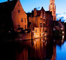 Medieval Bruges by ferryvn