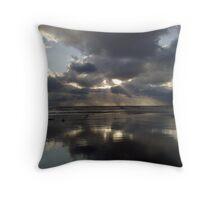 Storm overhead Throw Pillow
