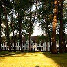 Historic Begijnenhof Bruges 1/2 (1716) by ferryvn
