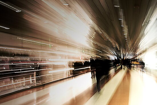 People in motion by Roberto Panciatici