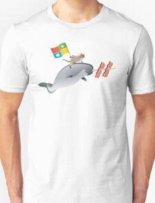 Ninjacat Narwhal Unisex T-Shirt