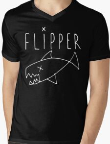 FLIPPER Mens V-Neck T-Shirt