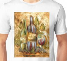 Time for Wine Oil Painting Unisex T-Shirt