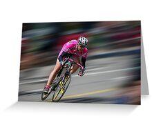 Take it! ~ Tour of the Gila Criterium Race 2010 Greeting Card