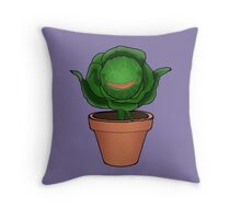 Audrey II Throw Pillow