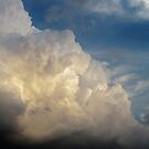 Summer Clouds over New York City  by Alberto  DeJesus
