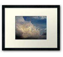 Summer Clouds over New York City  Framed Print