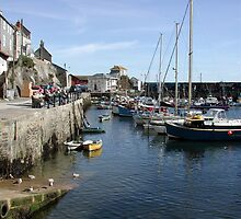 Mevagissey Harbour (2) by Spiritmaiden