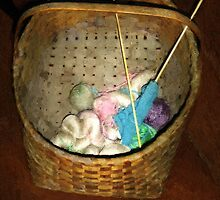 Old Basket, New Yarn by RC deWinter