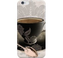 Vintage Cafe III iPhone Case/Skin