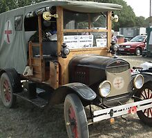 Ford model T Ambulance by Andy Jordan