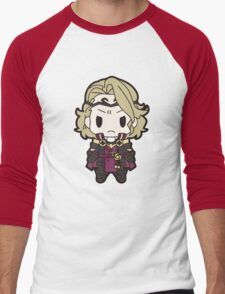 Fire Emblem: Fates Xander Chibi Men's Baseball ¾ T-Shirt