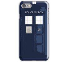 Blue Tardis iPhone Case/Skin