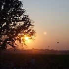 Sunset at Bonnaroo by hollymarie49735