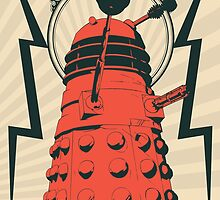 Dr Who Dalek by tonygraf