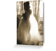 Femininity Greeting Card