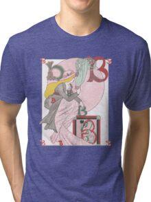 Broken Blossoms Tri-blend T-Shirt