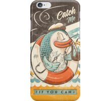 Catch Me If You Can iPhone Case/Skin