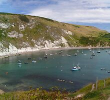 Lulworth Cove by mikebov