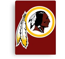 Redskins Canvas Print