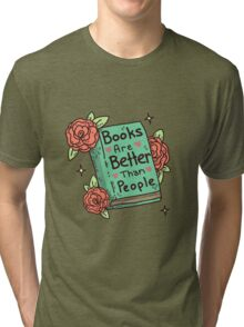 Books > People Tri-blend T-Shirt