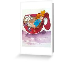 Marshmallows 'n Hot Chocolate Greeting Card