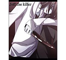 Jeff The Killer - Bloody Mess Photographic Print