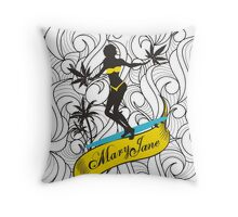 Mary Jane 3 Throw Pillow