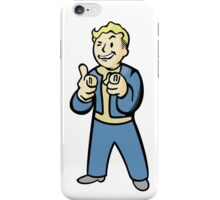 Pip Boy Smirk iPhone Case/Skin