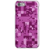 Pink Cube Camo iPhone Case/Skin