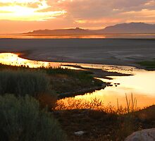 Sunset in Utah. by JoAnn Glennie
