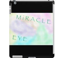 MIRACLE EYE SIDE iPad Case/Skin