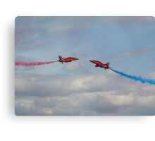Red Arrows 7 Canvas Print