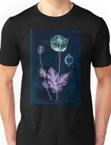 A curious herbal Elisabeth Blackwell John Norse Samuel Harding 1739 0582 Black Poppy Inverted Unisex T-Shirt