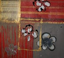 Collage and Monoprint by Christine Clarke